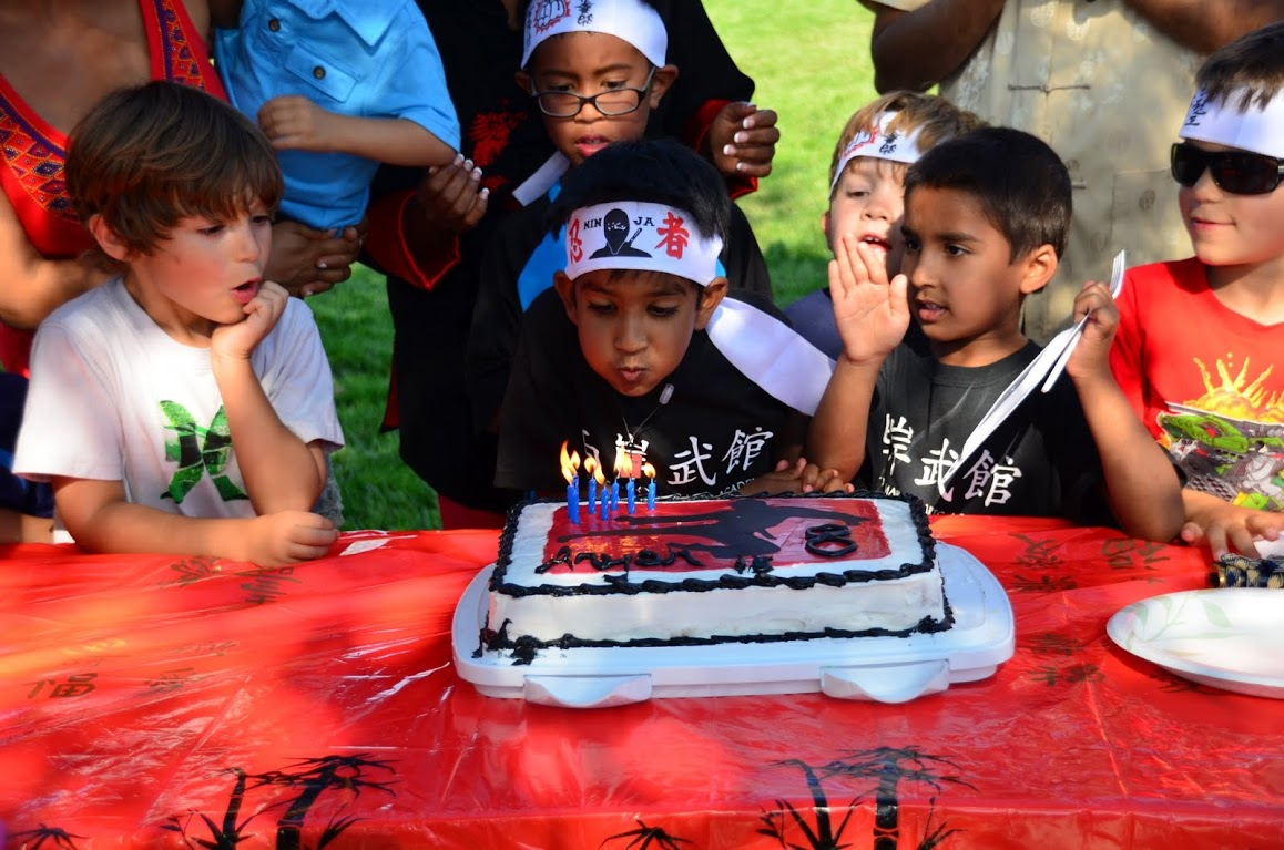 Kids Karate Birthday Party 4s Ranch Encinitas Rancho Bernardo Fun